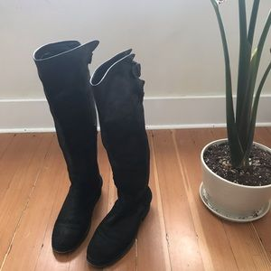 BP Nordstrom tall women's black boots